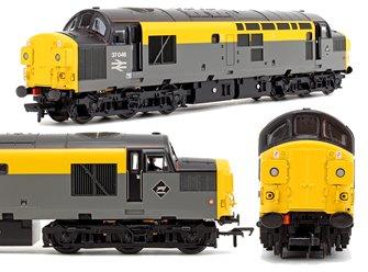Class 37/0 No. 37046 BR Grey & Yellow 'Dutch' Split Headcode