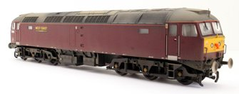 Custom Finished Class 47/0 47245 West Coast Railway Company Locomotive Weathered