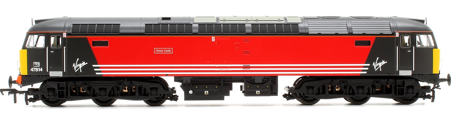 "Class 47/8 47814 ""Totnes Castle"" Virgin Trains Diesel Locomotive"