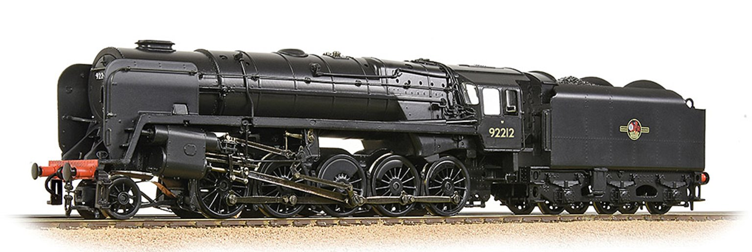 BR Standard 9F with BR1B Tender 92212 BR Black (Late Crest)