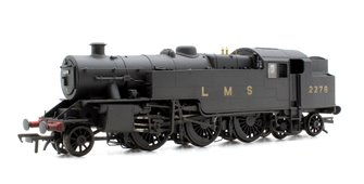 Fairburn 2-6-4 Tank 2278 LMS Black Weathered Locomotive