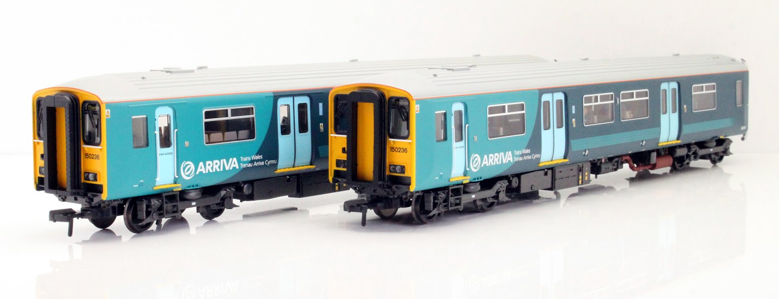 Class 150/2 150236 Arriva Trains Wales (Revised) DCC Sound
