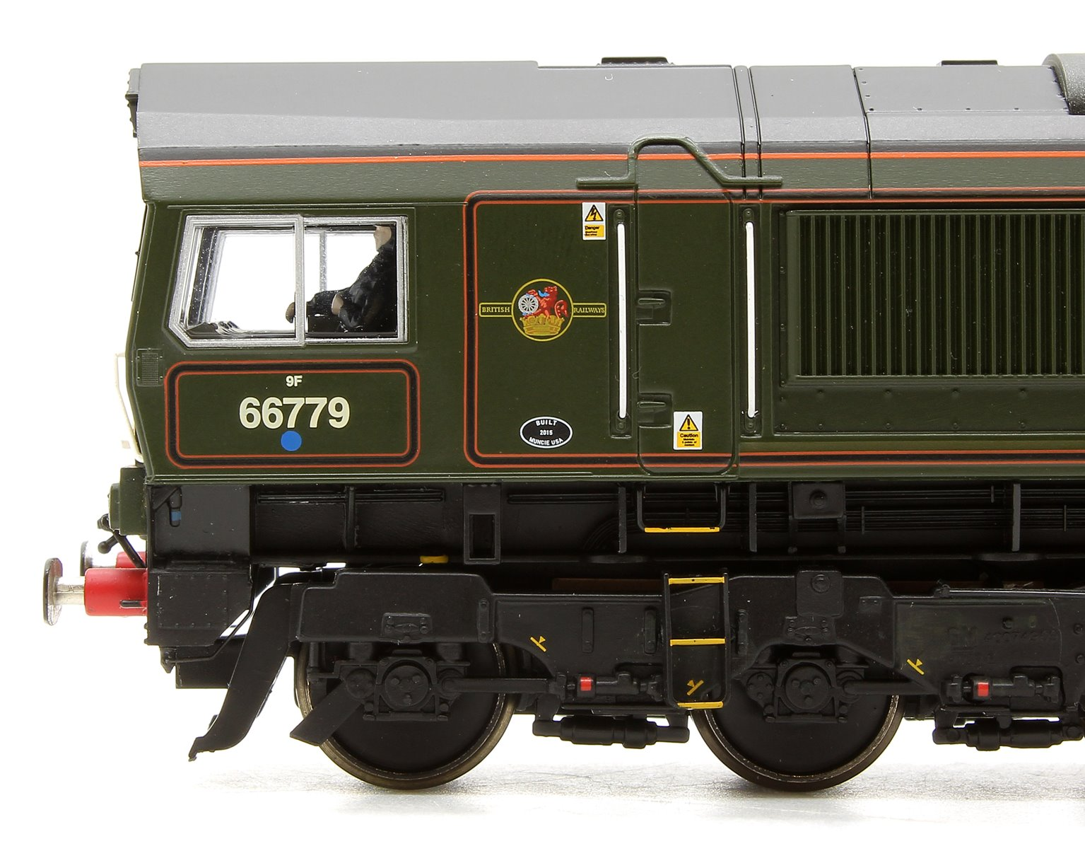 "Class 66/7 66779 ""Evening Star"" BR Green with GBRF Branding Locomotive"