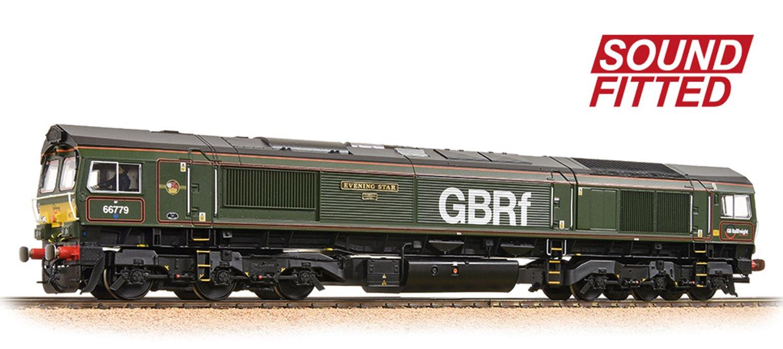 Class 66/7 66779 'Evening Star' GBRf Brunswick Green DCC Sound