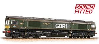 Class 66/7 66779 'Evening Star' GBRf Brunswick Green DCC Sound