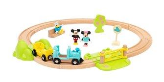 Brio - Mickey Mouse Train Set
