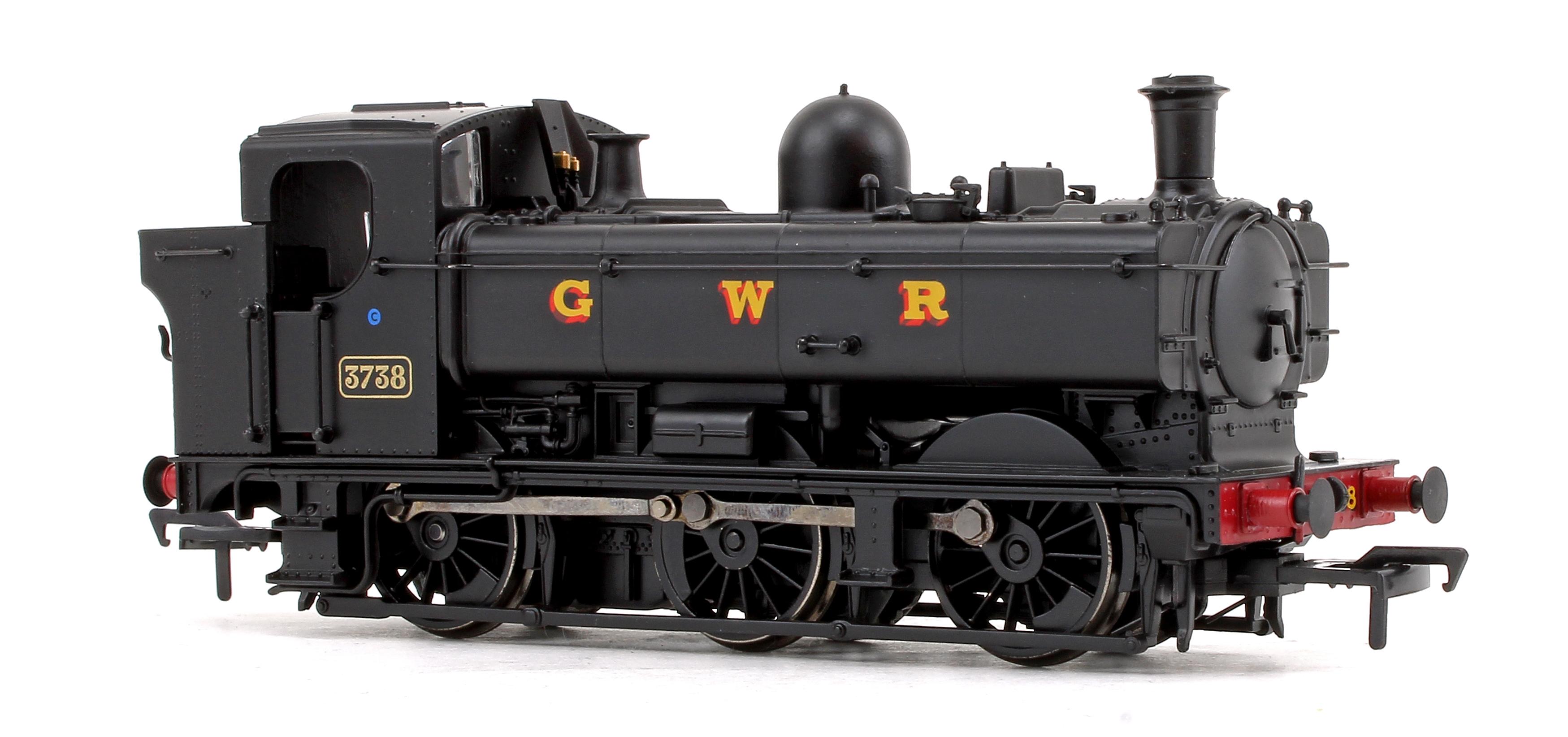 Bachmann 32-199 Class 8750 0-6-0PT 3738 GWR Black