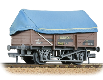 5 Plank China Clay Wagon BR Bauxite (TOPS) With Hood