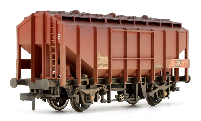 35 Ton PAV Bulk Grain Wagon BRT Brown - Weathered