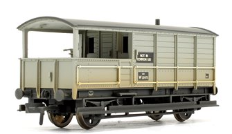 20 Ton Toad Brake Van BR Grey (Weathered Edition)