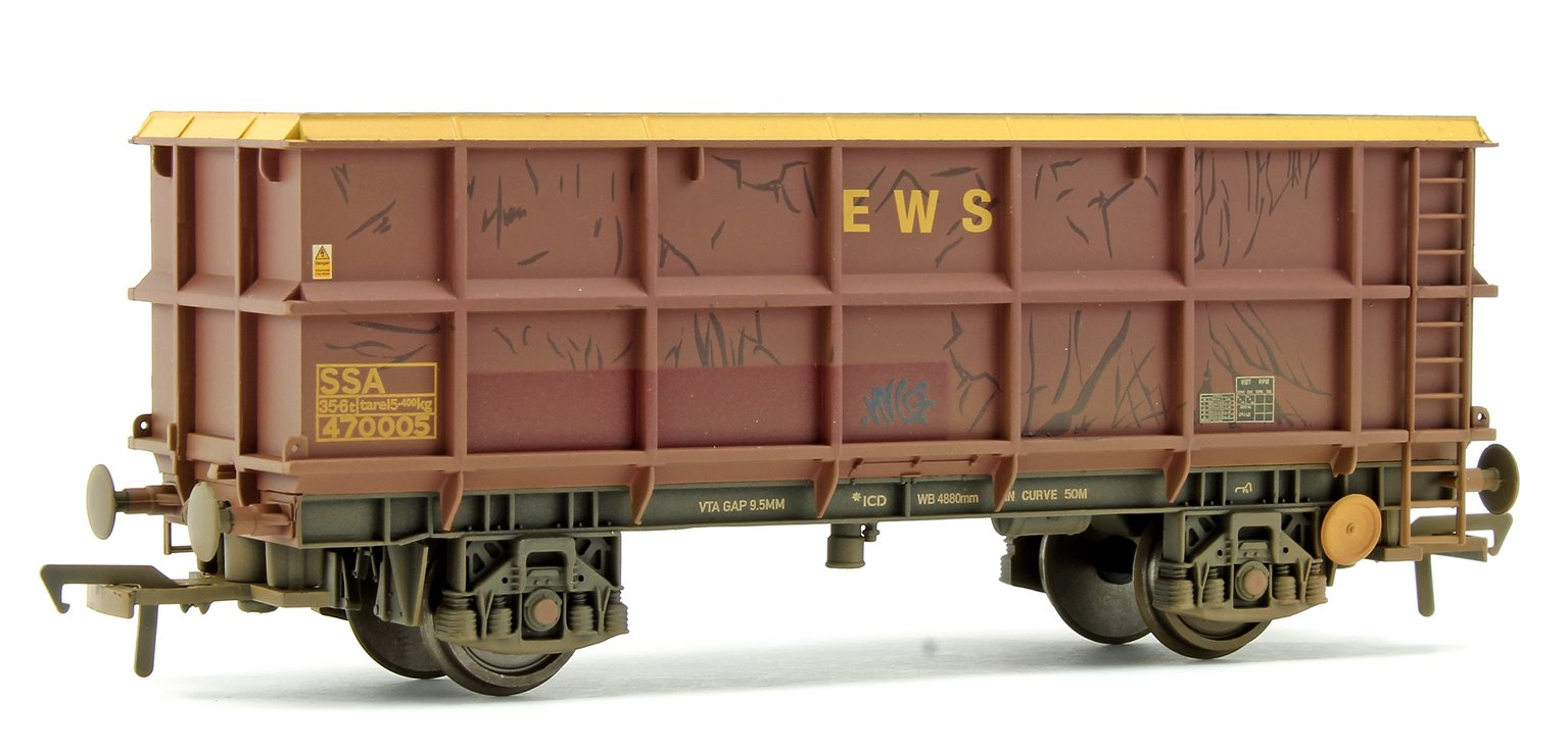 51 Tonne SSA Scrap Wagon EWS - Weathered