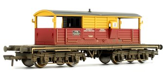 25 Ton Queen Mary Brake Van SatLink (Weathered Edition)