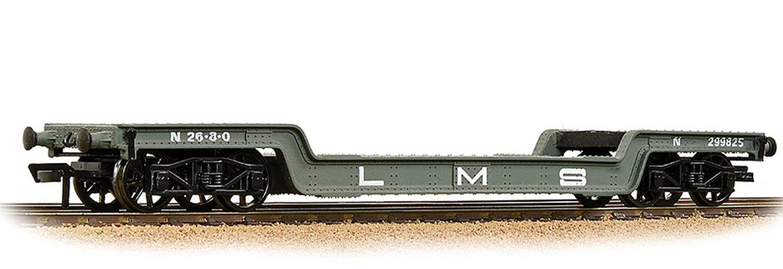 45T Bogie Well Wagon LMS Grey