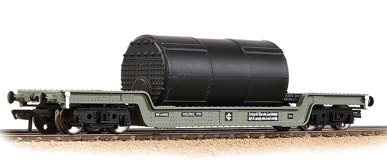 45T Bogie Well Wagon BR Grey (Early)