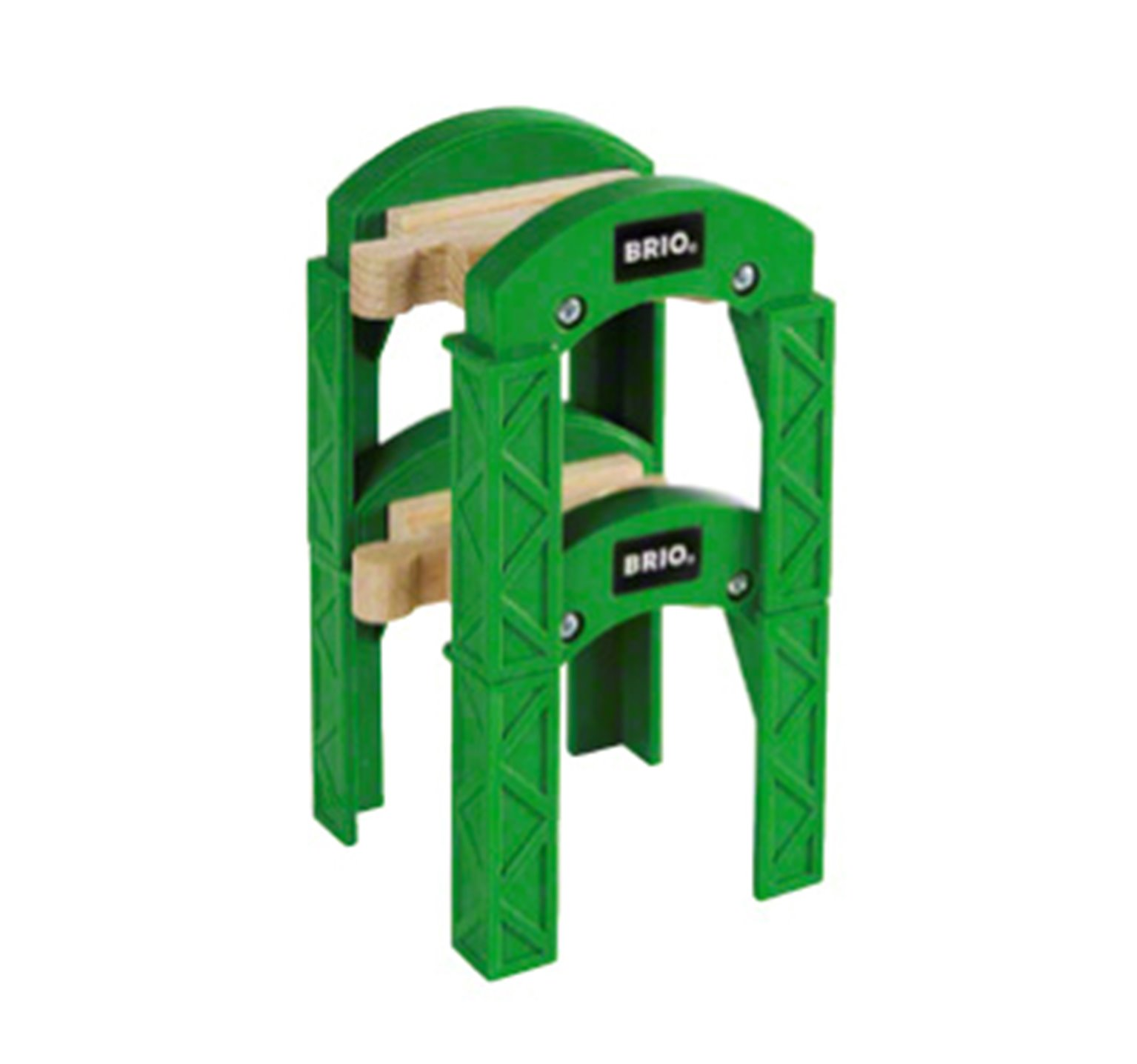 BRIO WORLD - Stacking Track Supports