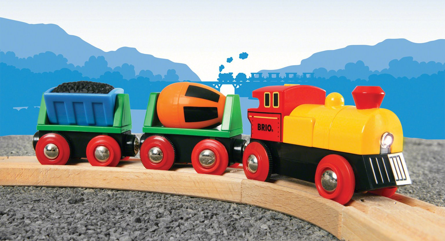 BRIO World - Battery Operated Action Train