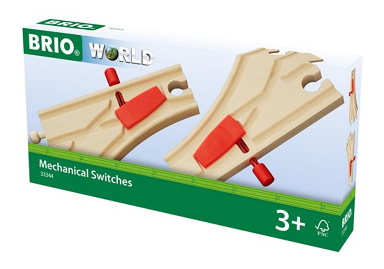 BRIO WORLD - Mechanical Switches for railway