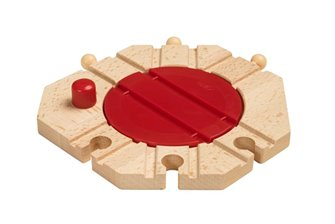 BRIO WORLD - Mechanical Turntable for Railway