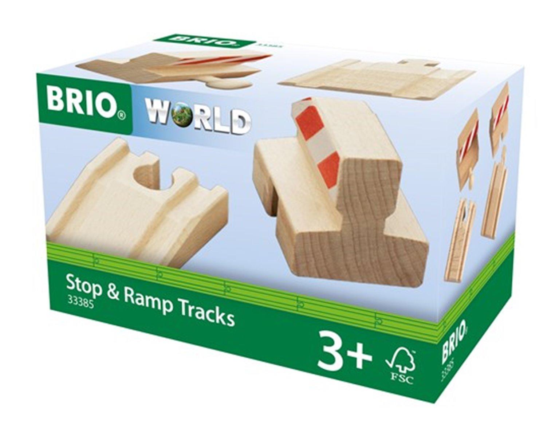 BRIO WORLD - Ramp & Stop Track Pack