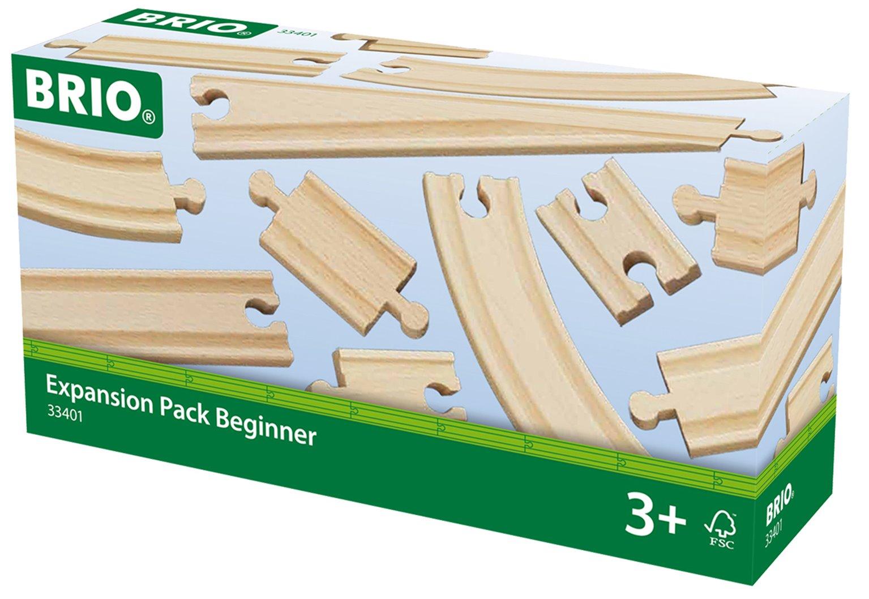BRIO World Railway Track Expansion Pack - Beginner
