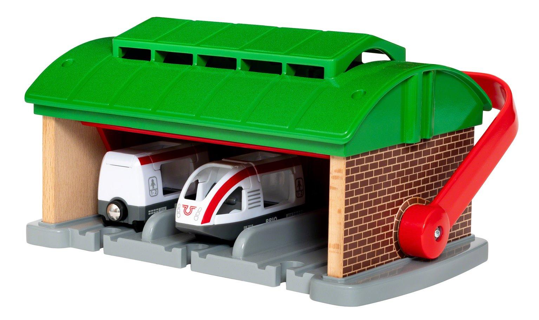 BRIO World - Train Garage with Handle