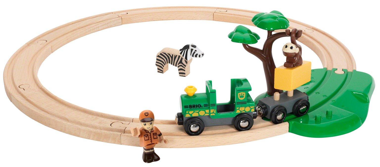 BRIO World - Safari Railway Set