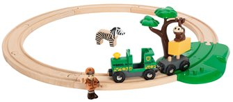 BRIO World - Safari Railway Set
