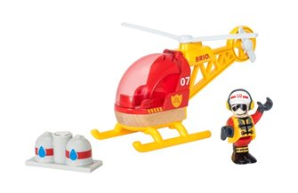 BRIO WORLD - Firefighter Helicopter