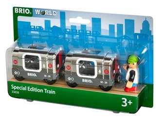 BRIO World - Special Edition 2020 Silver Metro Train