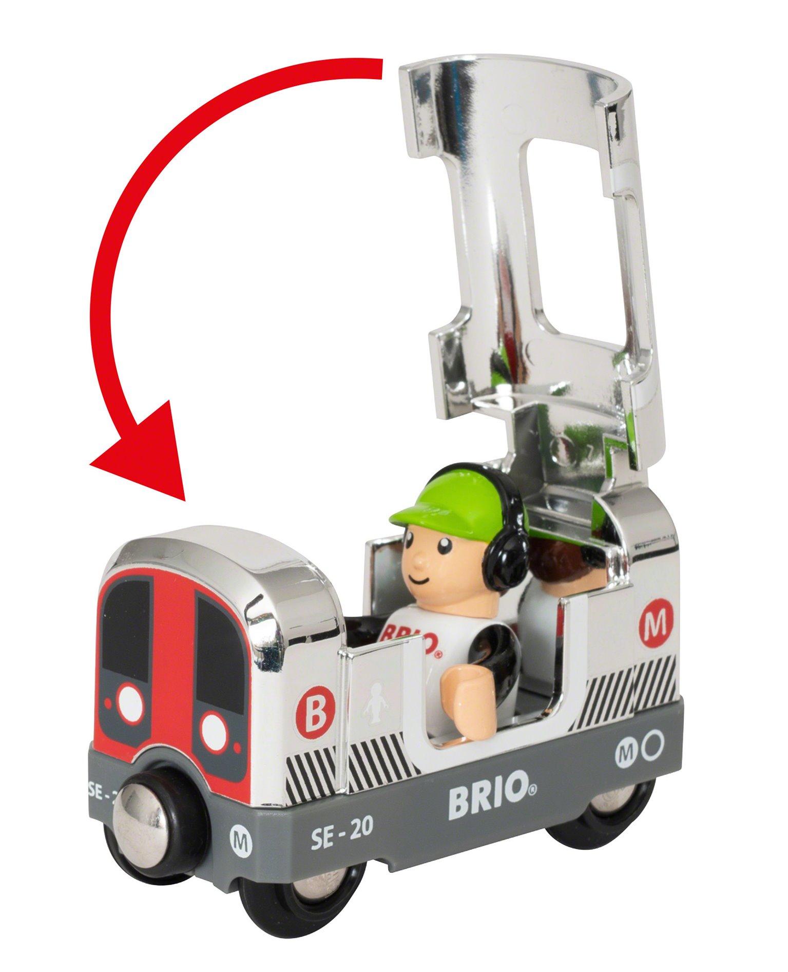 BRIO World - Special Edition 2020 Silver Metro Train
