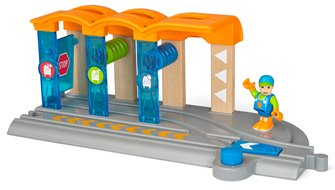 BRIO World - Smart Tech Railway - Washing Station