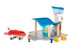 BRIO WORLD - Airport with Control Tower
