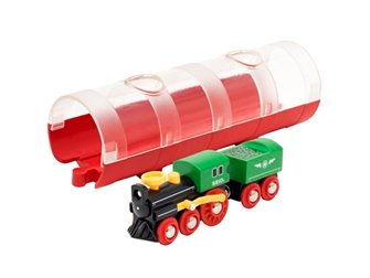 BRIO WORLD - Steam Train & Tunnel