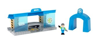 BRIO WORLD - Smart Tech Railway Workshop