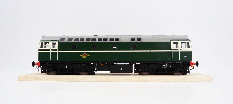 BRCW Type / Class 33 Bo-Bo Diesel (Version 2) Original BR Green