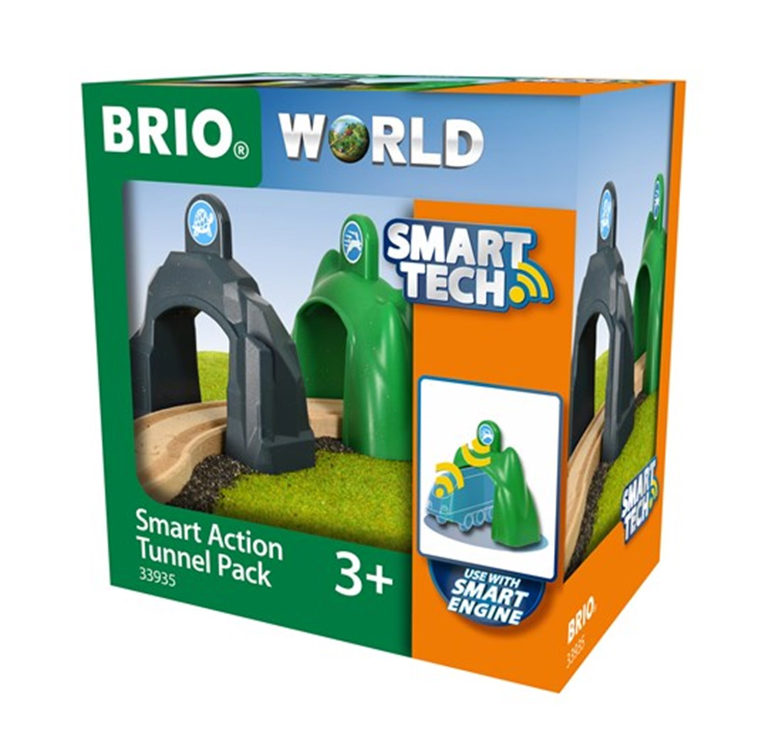 BRIO WORLD - Smart Tech Action Tunnel Pack