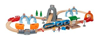 BRIO World Smart Tech Sound - Action Tunnel Travel Set