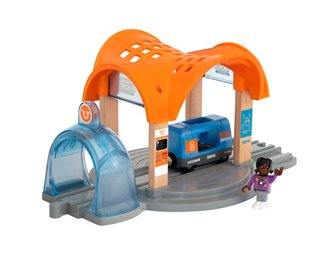 BRIO World Smart Tech Sound Action Tunnel Station
