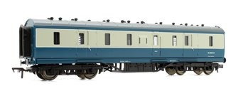 50ft Ex-LMS Full Brake Coach BR Blue & Grey
