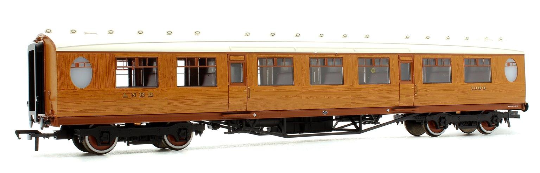 Thompson 3rd Class Corridor LNER Teak