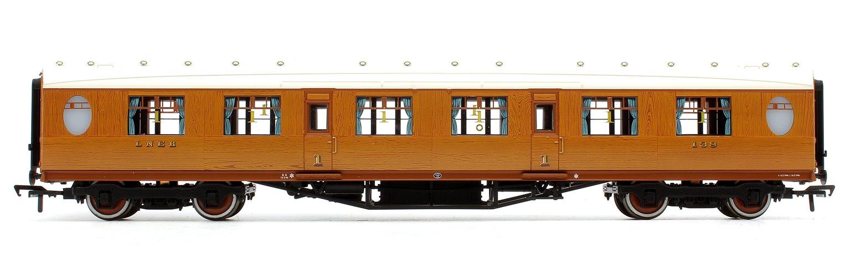 Thompson 1st Class Corridor LNER Teak