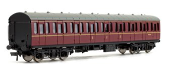 BR MK1 Suburban Composite BR Lined Maroon Passenger Coach No.M41014