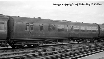 """Bulleid Semi-Open Brake Third (10"""" Vents) in Southern Railway Malachite Green(Price is estimated - we will notify you if price rises and offer option to cancel)"""