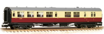 "Bulleid Semi-Open Brake Third (15"" Vents) in BR Crimson & Cream(Price is estimated - we will notify you if price rises and offer option to cancel)"