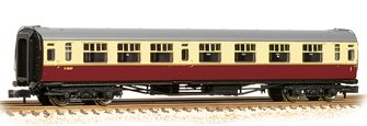 "Bulleid Corridor Composite (15"" Vents) in BR Crimson & Cream(Price is estimated - we will notify you if price rises and offer option to cancel)"