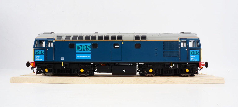 BRCW Type / Class 33 Bo-Bo Diesel (Version 3) DRS blue unnumbered