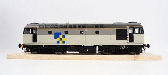 BRCW Type / Class 33 Bo-Bo Diesel (Version 3) Railfreight Construction sector grey