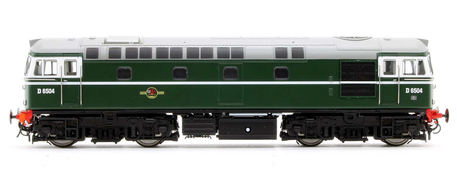 Class 33/0 'Crompton' D6504 in BR Green (Early Exhaust)