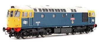Class 33 025 'Sultan' BR Blue FYE (Light Grey Roof) Diesel Locomotive