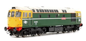 "Class 33 008 ""Eastleigh"" BR Green 1980s (FYE) Diesel Locomotive"